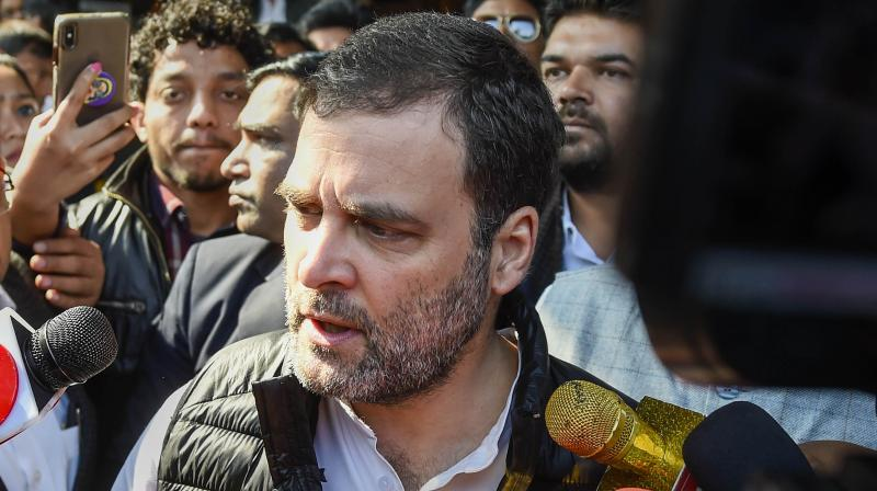Rahul Gandhi argued that the economic fallout of this lockdown will vastly amplify the toll extracted by the coronavirus pandemic. (PTI)