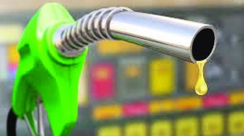 As increase in the fuel prices increased the revenue of the state.