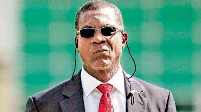 Former West Indies pace bowler Michael Hoding. DC File Photo