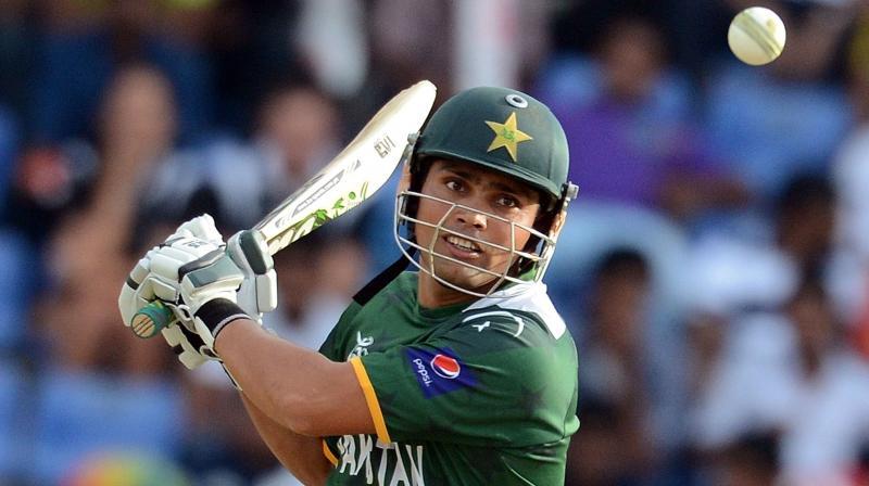 Former Pakistan cricketer and Umar's brother Kamran Akmal. AFP Photo