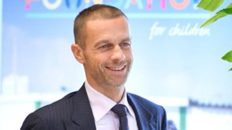 UEFA president Aleksander Ceferin. Twitter Photo
