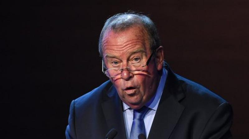 Chairman of FIFA medical committee Michel D'Hooghe. Twitter Photo