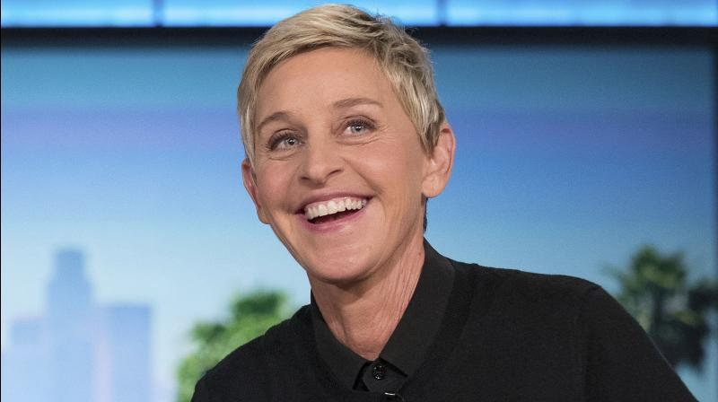 American chat show host Ellen Degeneres. AP Photo