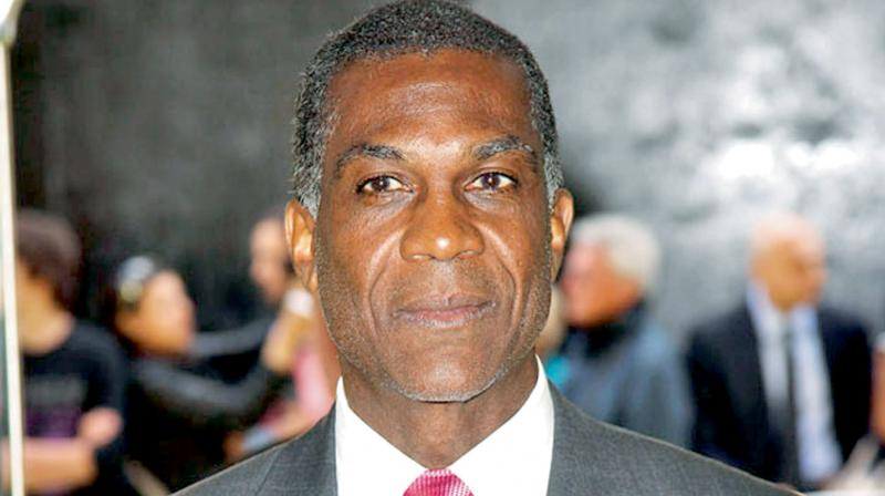 Former West Indies pace bowler Michael Holding. DC File Photo