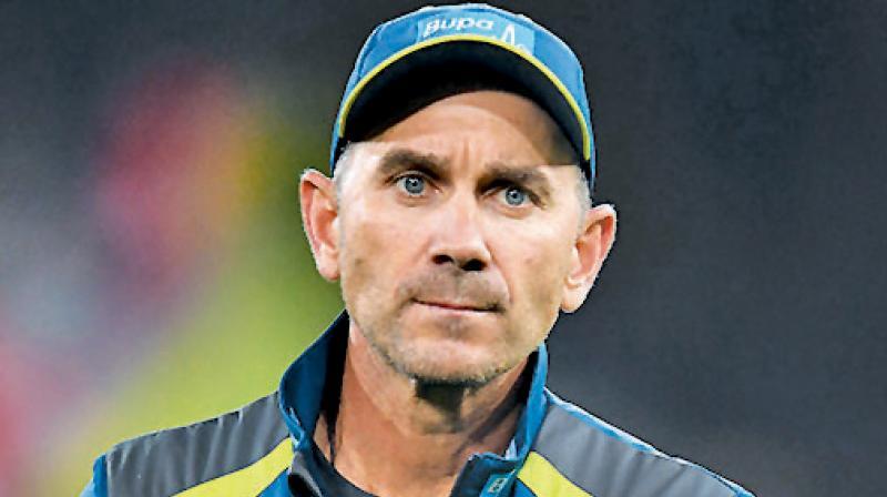Australia cricket coach Justin Langer. DC File Photo