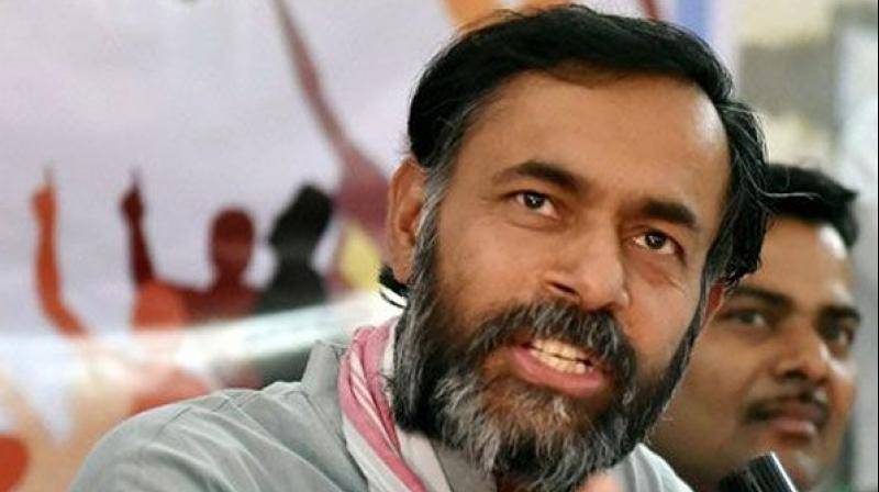 Yogendra Yadav (Photo: PTI)