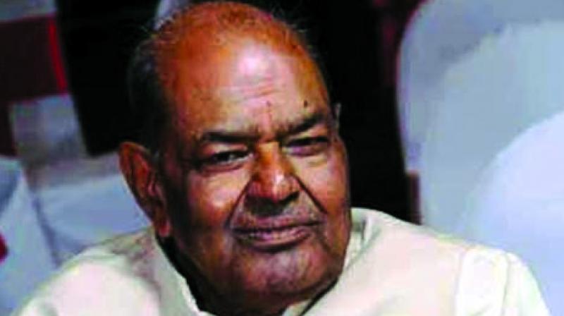 Delhi BJP president Mange Ram Garg