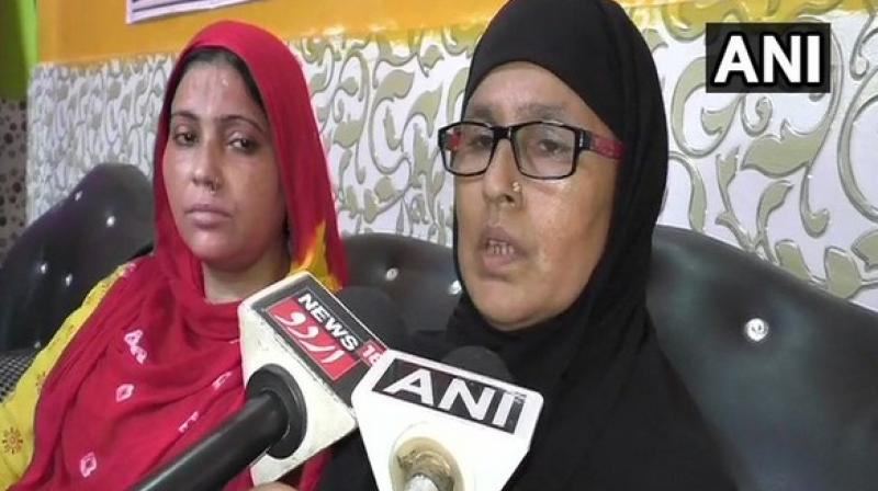 'I joined BJP yesterday and when my landlord came to know of it she misbehaved with me and asked me to vacate immediately,' Gulistana said. (Photo: ANI)