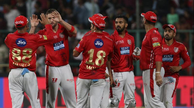 KXIP held their nerves to pick up their second win of the season. (Photo: BCCI)