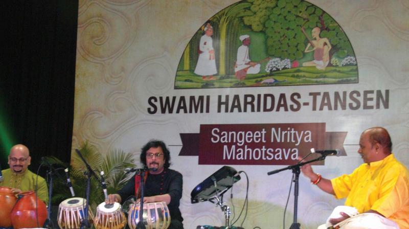 Performance at the Swami Haridas Tansen Samaroh