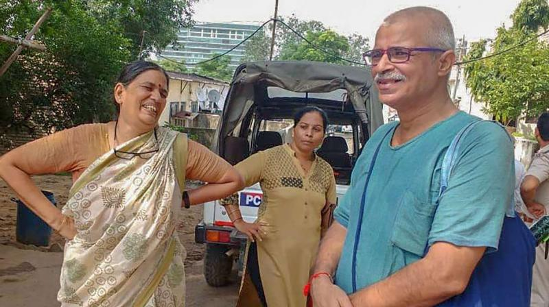 From the hundreds of letters seized, the Pune police on Friday read the 'prominent' ones, which included a letter by Sudha Bharadwaj. (Photo: File)