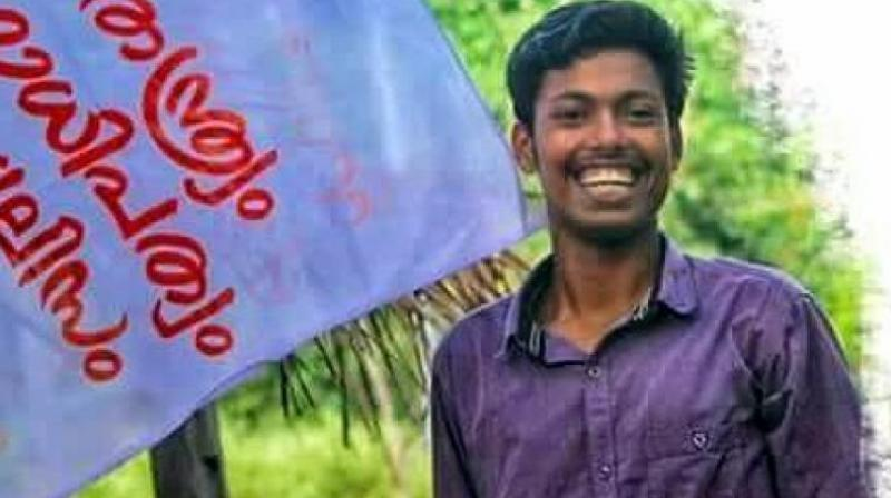 Abhimanyu, a second-year degree student at the college, was a resident of Vattavada in Idukki district and also a member of the organisation's Idukki district committee. (Photo: Facebook screengrab)