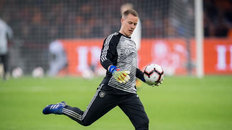 Kroos, who has just signed a new Real Madrid contract keeping him at the club until 2023, and Barcelona goalkeeper Ter Stegen sit out the qualifiers. (Photo: Germany Football Team/Twitter)