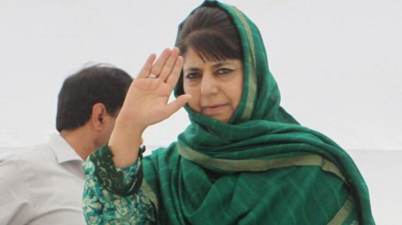 PDP leader Mehbooba Mufti. (Photo: File)