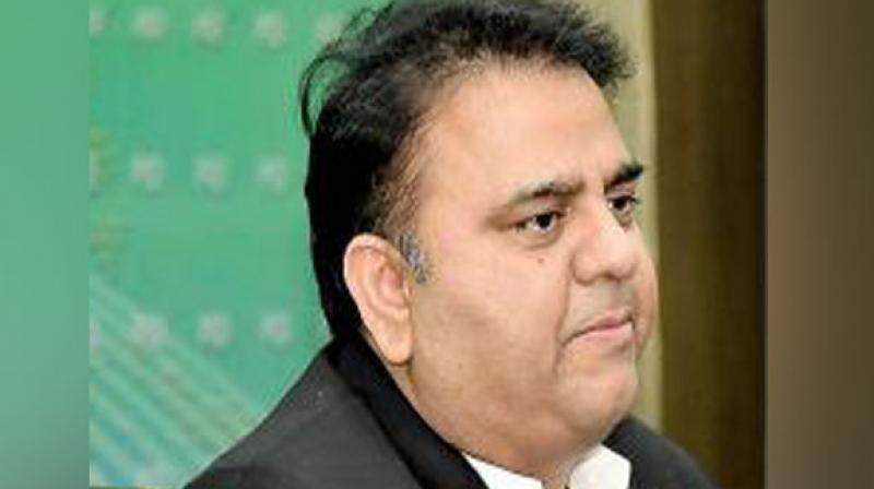 Pakistan Minister Fawad Chaudhry. (Photo: ANI)