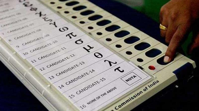 The NOTA option enables a voter to officially and secretly register a vote of rejection of all contesting candidates. (Photo: PTI)