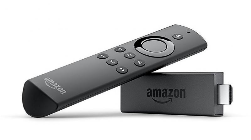 The Fire TV Stick from Amazon looks similar to a USB pen drive, albeit a little larger than usual.