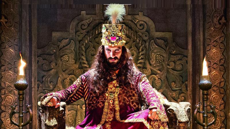 Ranveer Singh as Alauddin Khilji in Padmaavat