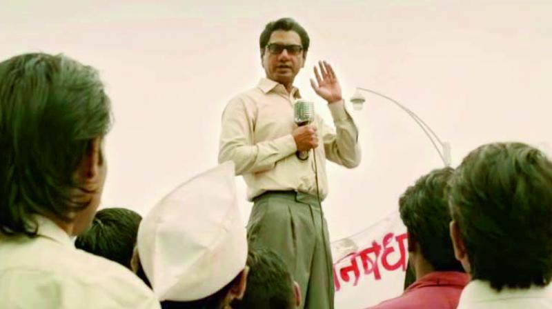 Some of Bal Thackeray's speeches led to violence in Mumbai. However, the trailer shows him as a people's leader who fought for their rights.