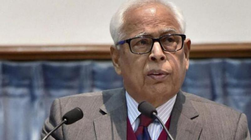 N.N. Vohra was appointed J&K governor by Prime Minister Manmohan Singh, but Prime Minister Narendra Modi kept him on. (Photo: PTI)