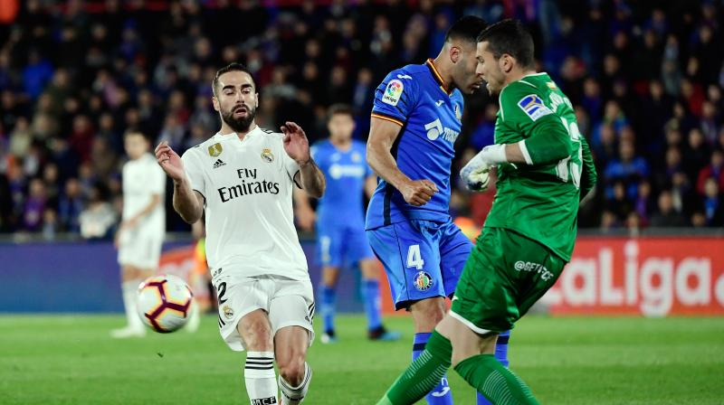 Real Madrid were mathematically ruled out of the title race after Barcelona beat Alaves on Tuesday while Atletico Madrid look likely to finish above them too for a second consecutive year. (Photo: AP)