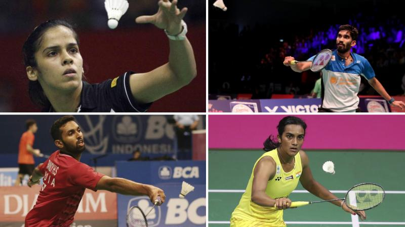 PV Sindhu, Saina Nehwal, Kidambi Srikanth,HS Prannoy and B Sai Praneeth enter 2nd round.