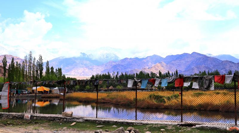 A panoramic view of Ladakh from Shey Palace (Photo: Amit and Mousumi Sengupta)