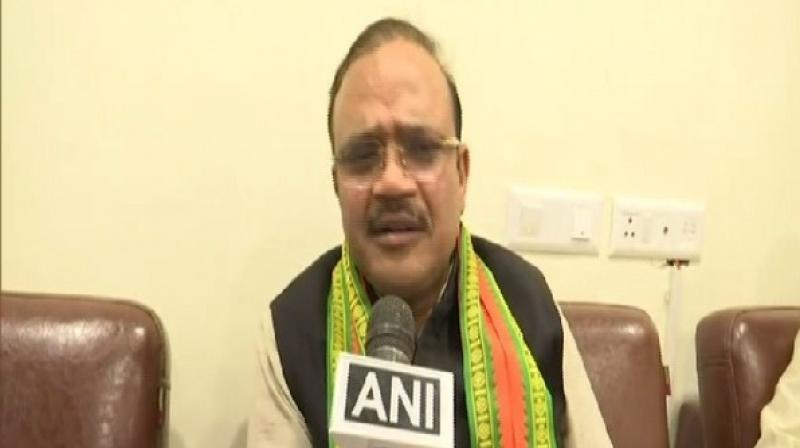 Commenting on Pragya Singh Thakur's comments, that she was involved in the demolition of the Babri Masjid in Ayodhya, Jain said: 'I am not aware of that comment because I have not heard it.' (Photo: ANI)