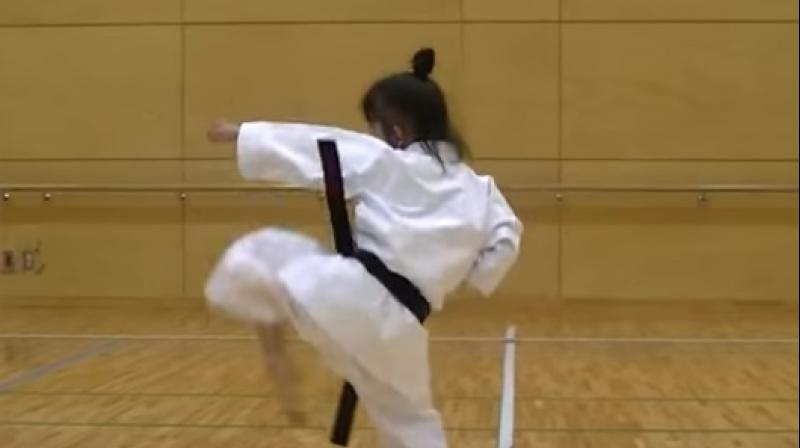 The girl had allegedly received a blow on her nose during Karate training. (Photo: Videograb)