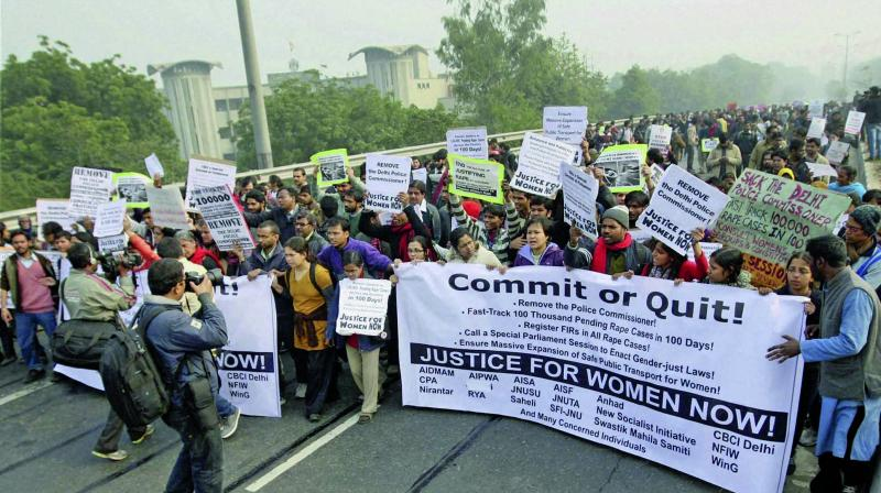 The December 16 gangrape case triggered widespread protests across the country.