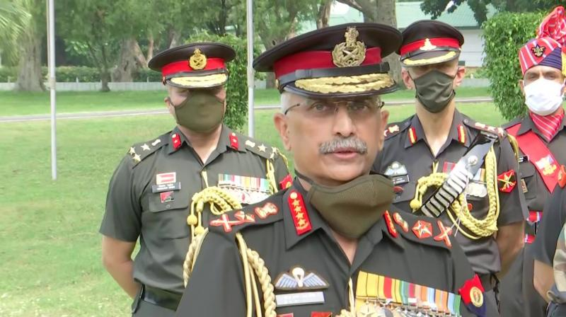 Indian Army chief MM Naravane. (ANI)