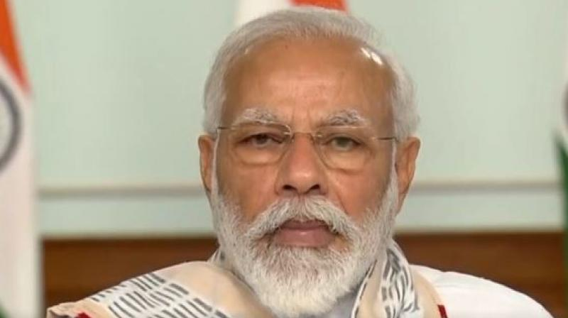 Prime Minister Narendra Modi during the interaction with CMs.