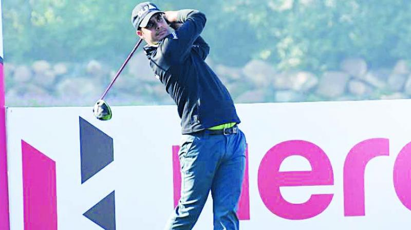 Form player Shubhankar Sharma will want to cash in on home advantage at the DLF course.