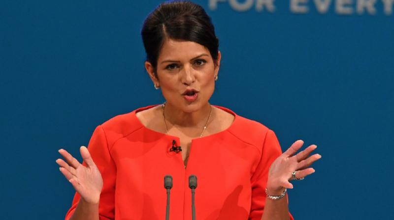Priti Patel (Photo: AFP)