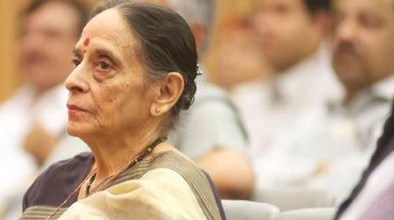 She was also the first woman chief justice of a state high court (Himachal Pradesh). (Photo: ANI/Twitter)
