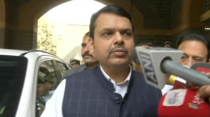 'We should have strapped some of the sceptical Opposition leaders to the rocket, so that they could have seen with their own eyes,' Fadnavis said at a poll rally at Virar near Mumbai.  (Photo: File)