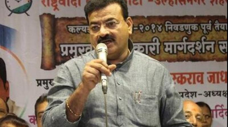 Last month, NCP MLA Avadhut Tatkare, the nephew of party MP Sunil Tatkare, also announced his decision to join the Sena. He will be inducted into the Sena on Monday evening. (Photo: Twitter   @_BhaskarJadhav)