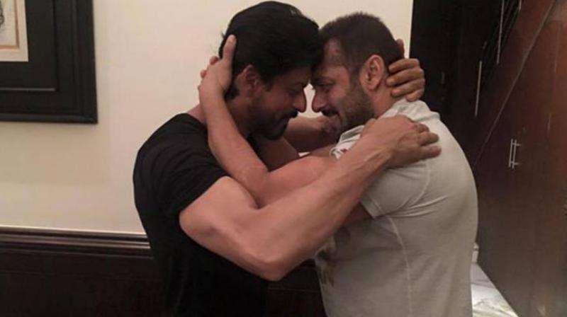 The friendship between Shah Rukh and Salman has been growing since their patch-up.