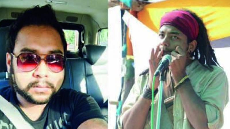 Abhijit Nath and Nilotpal Das, who were lynched by a mob in Assam's Karbi Anglong district.