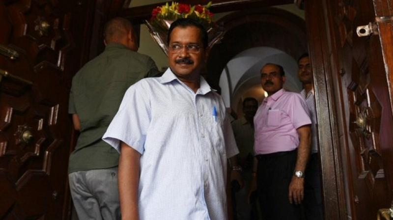 Kejriwal also invited Prime Minister Modi to visit Mohalla clinics and government schools in Delhi. (Photo: ANI)