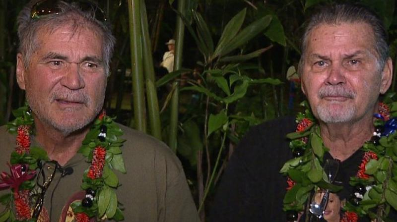 Alan Robinson and Walter Macfarlane have been friends for 60 years. (Photo: AP)