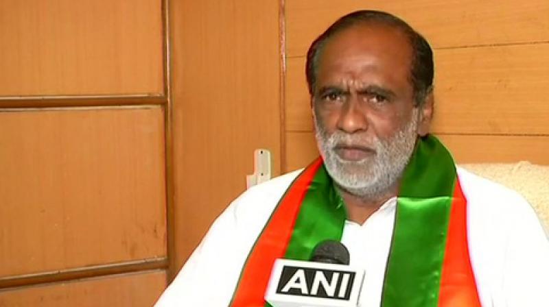 Telangana BJP chief K. Laxman