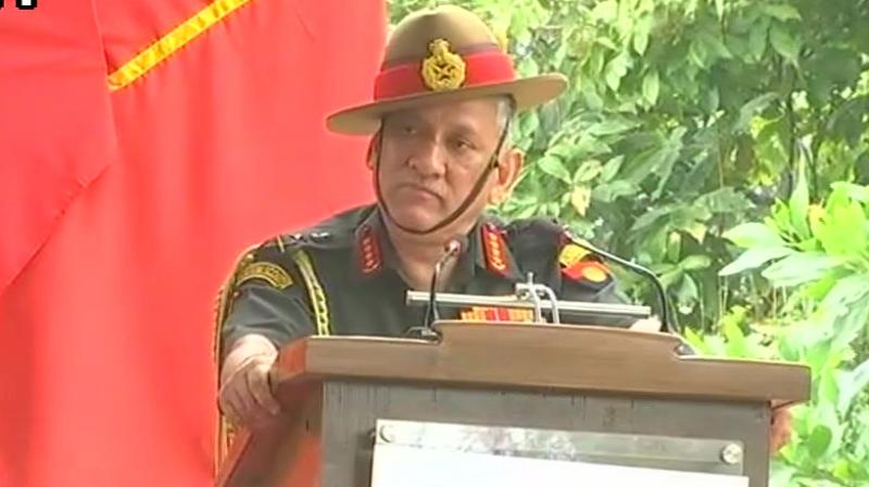 Army Chief General Bipin Rawat  (Photo: ANI | Twitter)