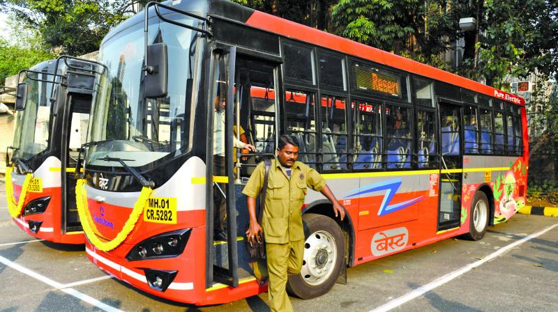 100 buses would ply in Kolkata, the remaining 30 have been earmarked for industrial towns of Durgapur and Asansol. (Photo: Rajesh Jadhav/Representational)