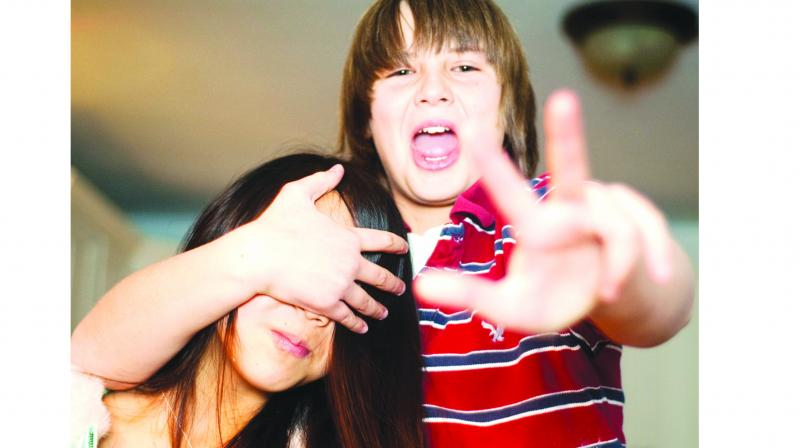 Children who have had strained relationships with their parents are unable to freely express their feelings.