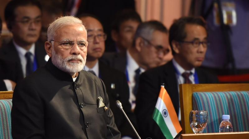 '1.25 billion people of India are keen to welcome the ASEAN Leaders as our Chief Guests at India's 69th Republic Day Celebrations,' Modi said. (Photo: Twitter/@PMOIndia)