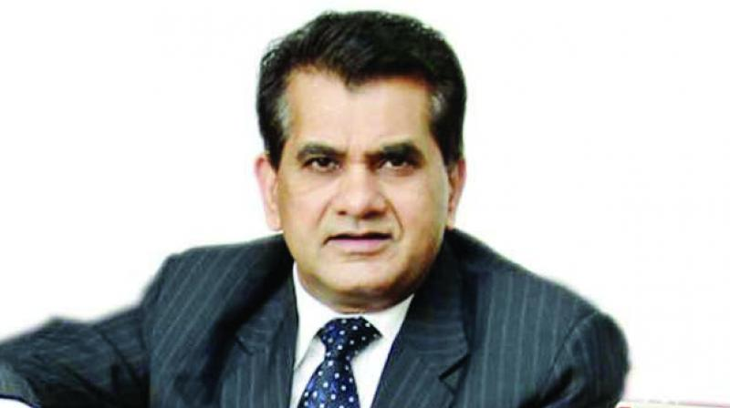 Niti Aayog chief executive Amitabh Kant.