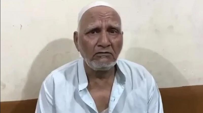The FIR alleges that the video was shared with an intention to provoke communal unrest. (Photo: Screengrab from video)