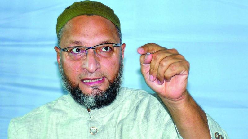 'I appeal to you (Speaker), save the country from such a law and save Home Minister also. Otherwise, like in Nuremberg race laws and Israel's citizenship act, Home Minister's name will be featured with Hitler and David Ben-Gurion,' Owaisi said in the Lok Sabha. (Photo: File)