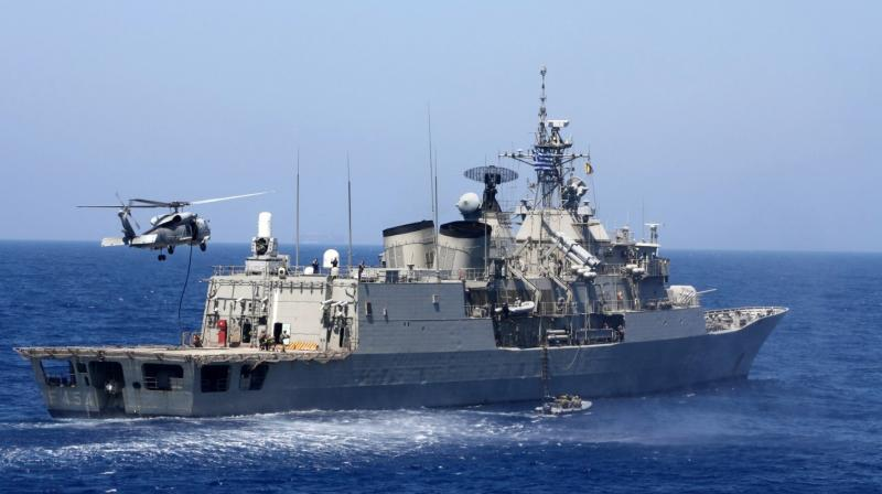 The Chinese military on Friday accused the US ship of entering